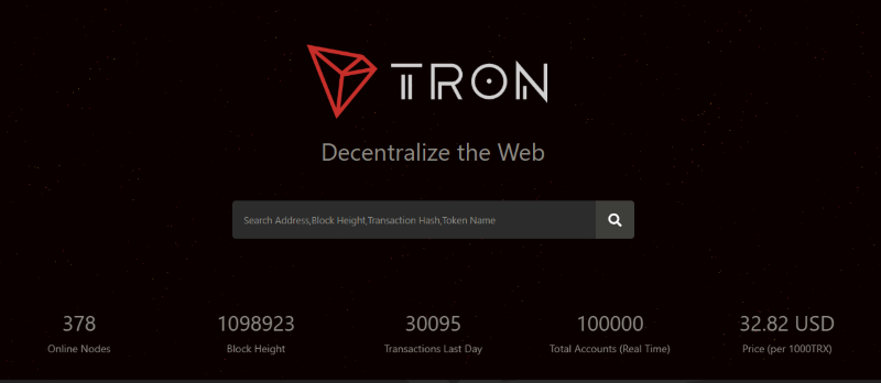 Tronscan  listed as one of best Tron wallets